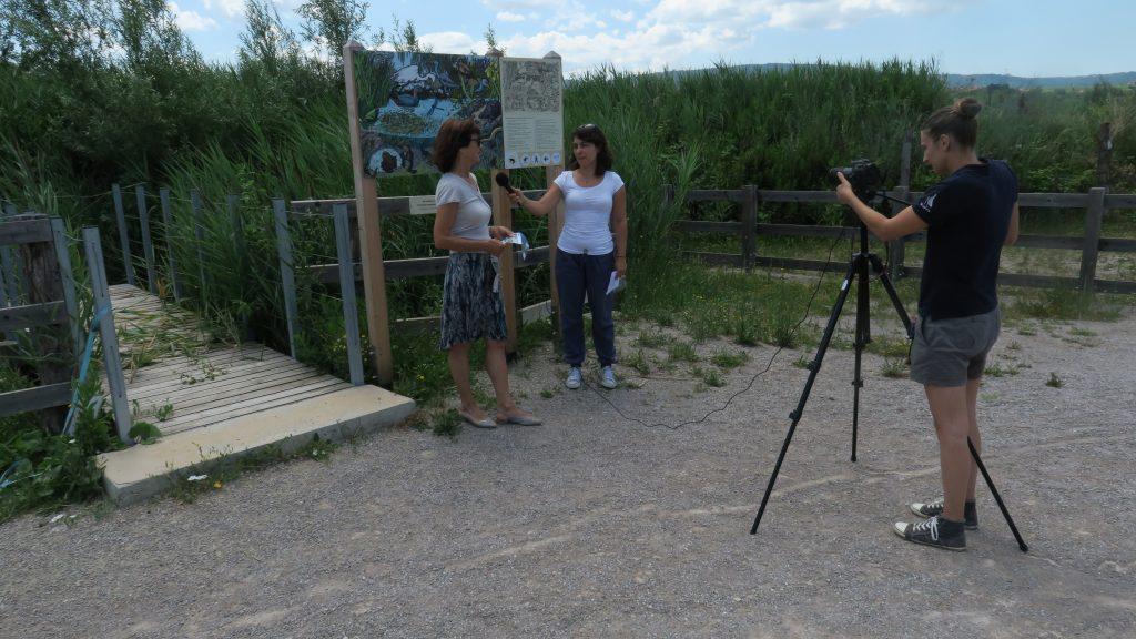 Video interviews, photo: Bojana Lipej